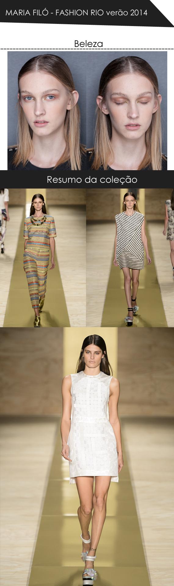 Maria Filó Fashion rio verão 2014 por Mean Fashion