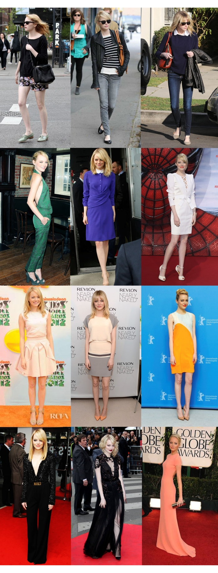 The Style of Emma Stone - Looks por Mean Fashion