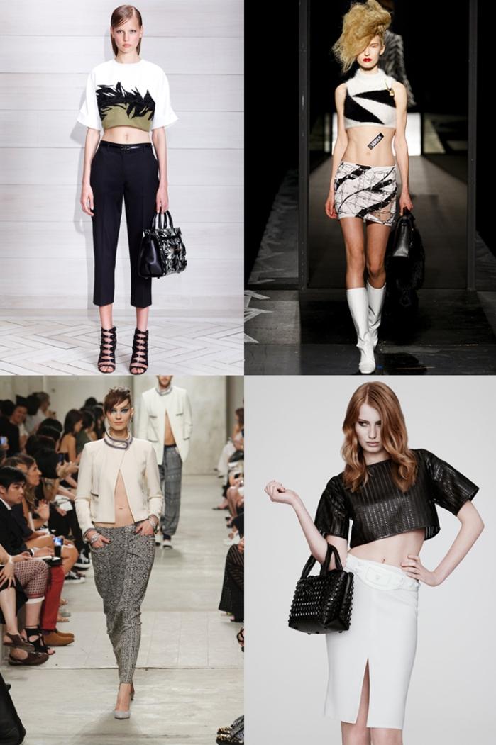 Catwalk  umbigo de fora por Mean Fashion