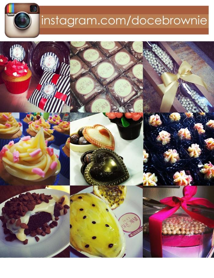 Doce Brownie no instagram