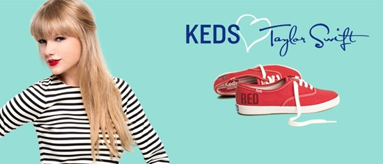 CAPA - Campanha de Tenis Keds by Taylor Swift por Larissa Barbosa (Blog Mean Fashion)