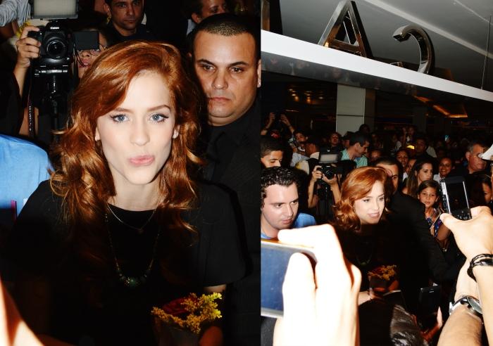 Sophia Abrahao na abertura da Cattan no Shopping Recife - por Fábio Wanderley
