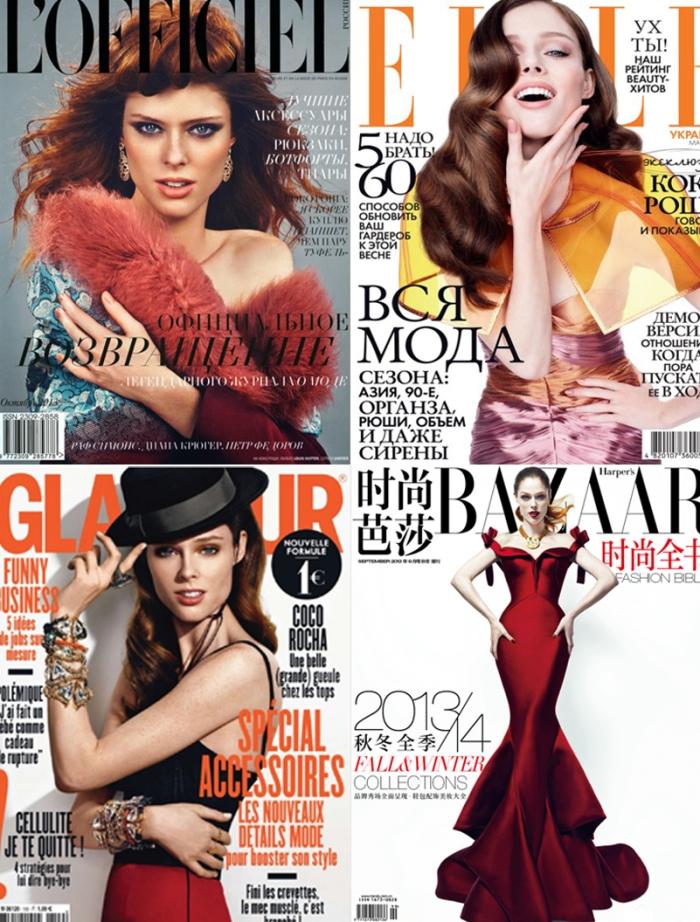 Models Inspirations Coco Rocha por Larissa Barbosa (Blog Mean Fashion) 1