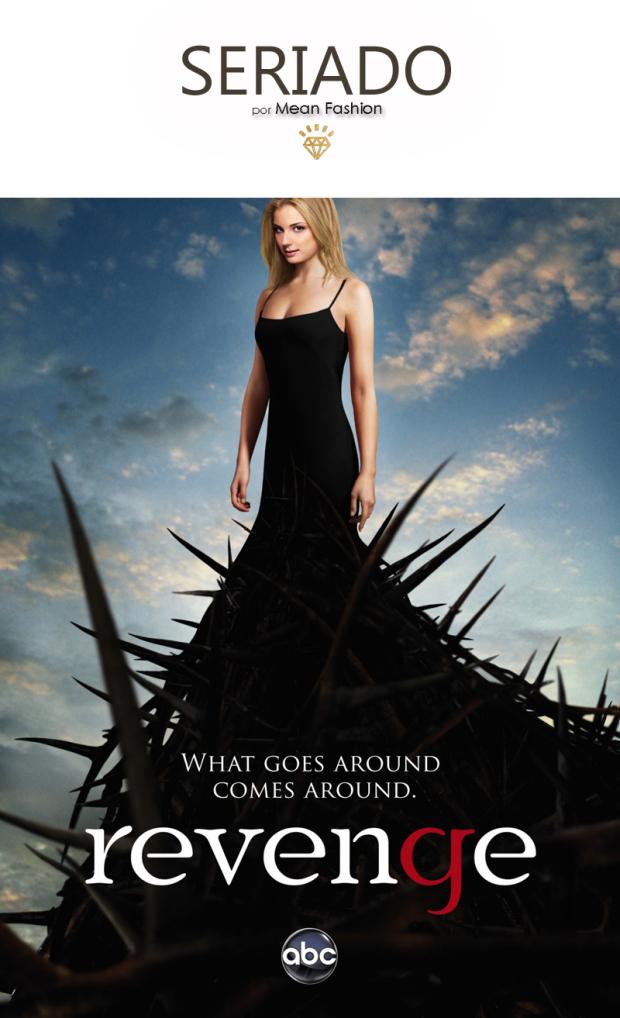 7- Seriado Revenge personagem Emily Thorne