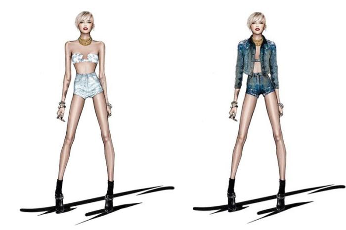 Roberto Cavalli cria figurino para Miley Cyrus por larissa Barbosa ( blog Mean Fashion) 1