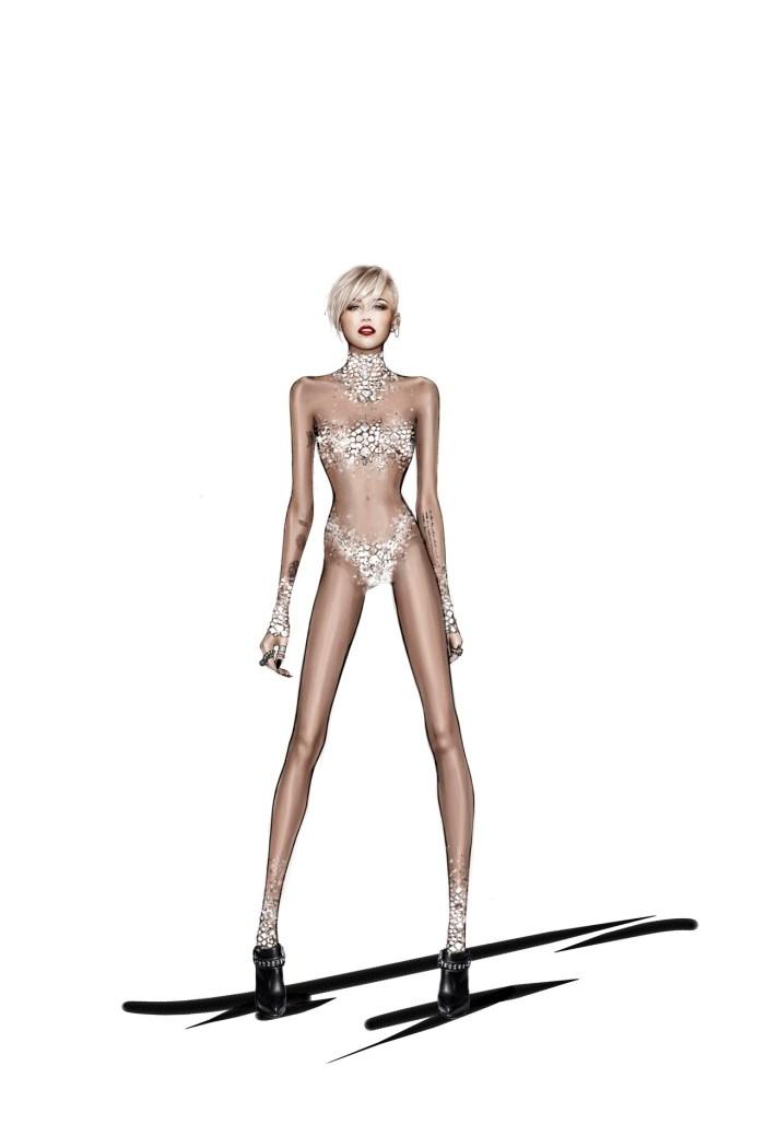 Roberto Cavalli cria figurino para Miley Cyrus por larissa Barbosa ( blog Mean Fashion)  (7)