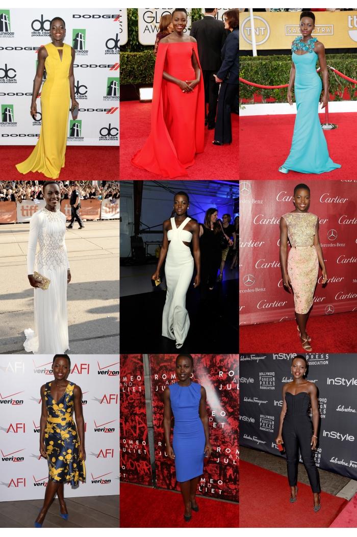 The Style Of Lupita Nyongo por Larissa Barbosa (Blog Mean Fashion)