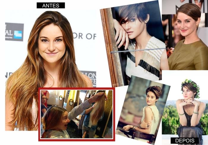 The style of com Shailene Woodley por Larissa Brabosa (Blog Mean Fashion) Cabelo