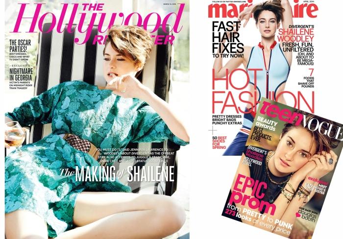 The style of com Shailene Woodley por Larissa Brabosa (Blog Mean Fashion) Revistas