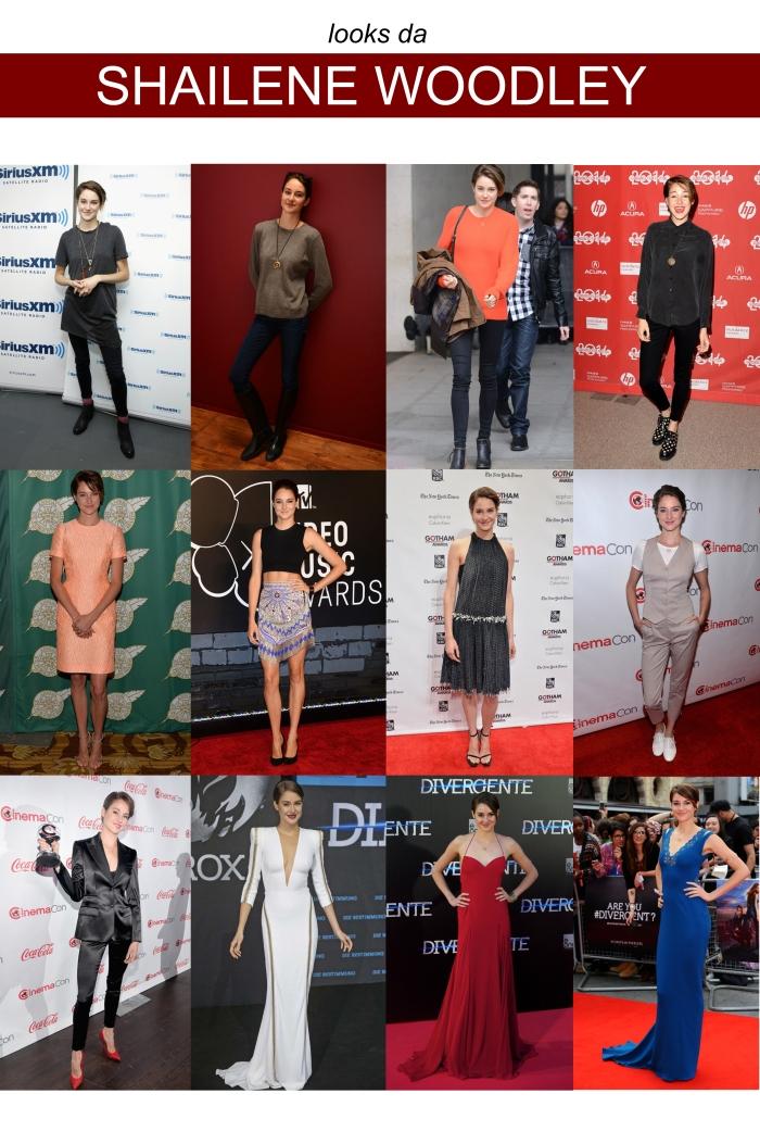 The style of com Shailene Woodley por Larissa Brabosa (Blog Mean Fashion)