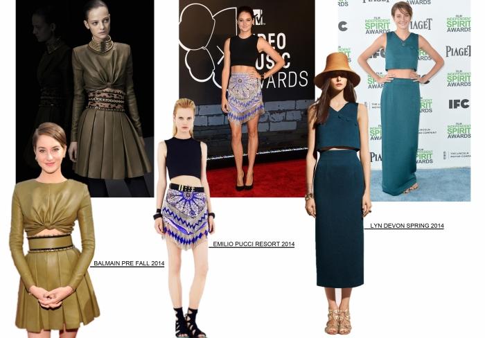 The style of com Shailene Woodley por Larissa Brabosa (Blog Mean Fashion).