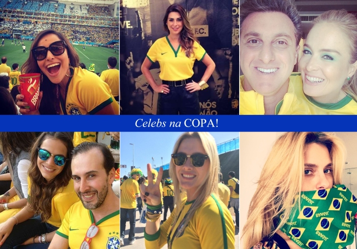 Abertura da copa 2014 por Larissa Barbosa ( Blog Mean Fashion) Celebs