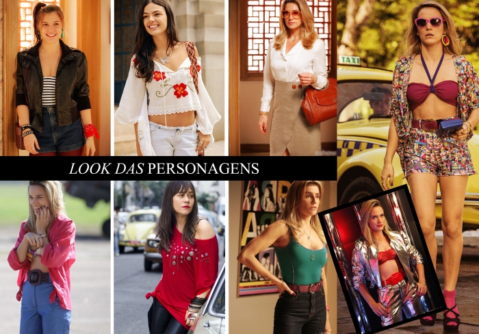 Figurino da novela Boogie Oogie Por Larissa Barbosa (Blog Mean Fashion) Look das personegens