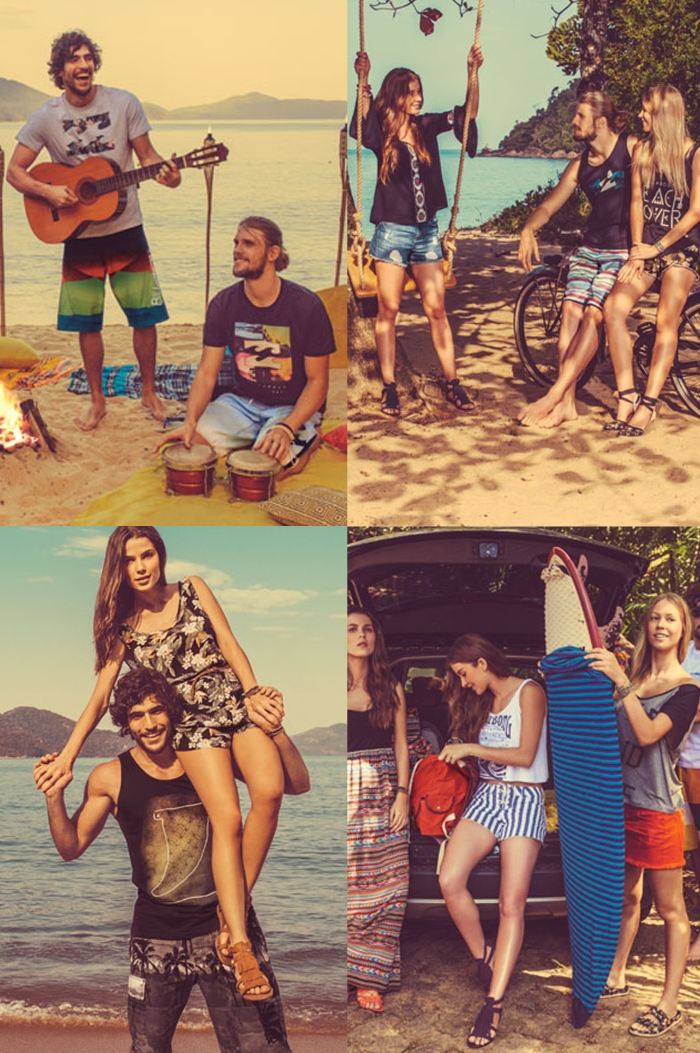 Billabong para C&a por Larissa Barbosa ( Blog Mean Fsahion) lookbook