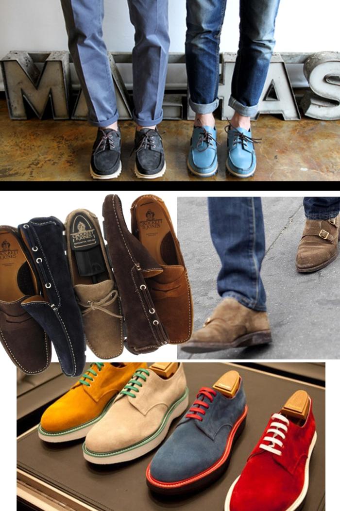 Dicas de como limpar seu sapato de camurça por Larissa Barbosa ( Blog Mean Fashion) Masculino