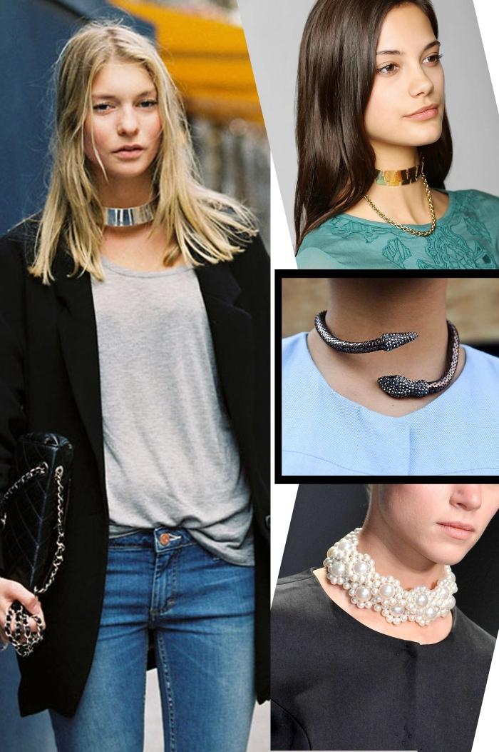 Tendência do colar Choker para temporada por Larissa Barbosa ( Blog Mean Fashion) Modelos