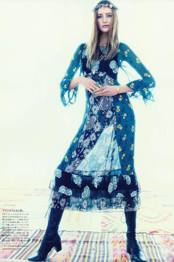 BOHO para 2015 por Larissa Barbosa ( Blog Mean Fashion) Vogue 1