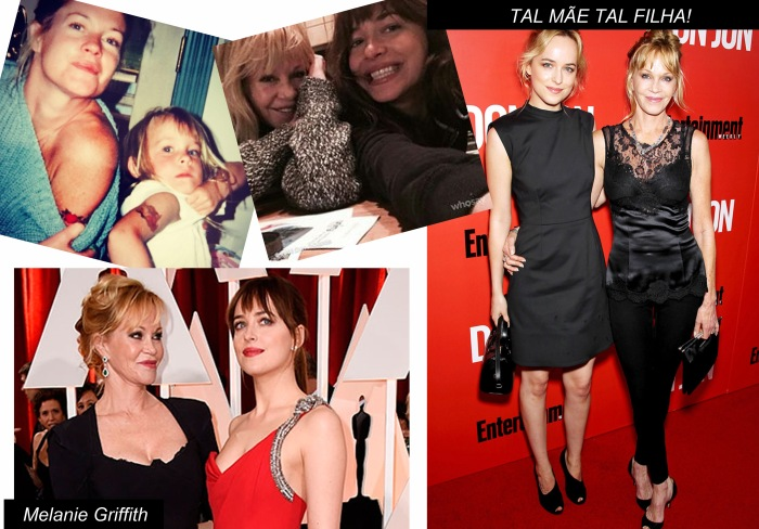 The style of com Dakota Johnson por Larissa Brabosa (Blog Mean Fashion) Melanie Griffith