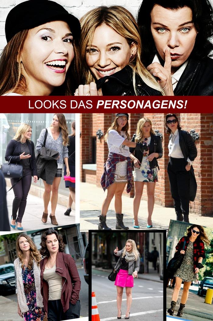 Seriado Younger por Larissa Barbosa ( Blog Mean Fashion) Personagens