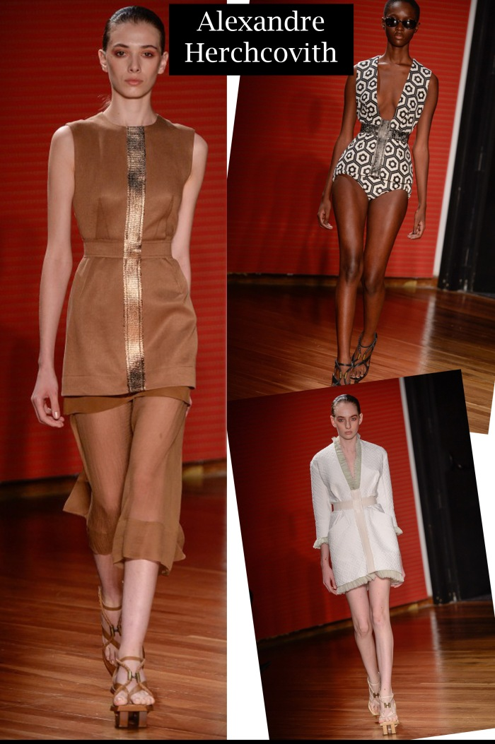 SPFW verão 2016 feminino por Larissa Barbosa ( Blog Mean Fashion) Alexandre Herchcovith