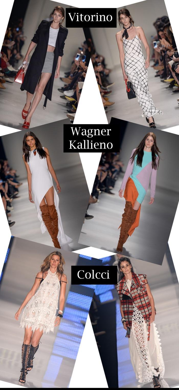 SPFW verão 2016 feminino por Larissa Barbosa ( Blog Mean Fashion) Colcci, Vitorino e Wagner