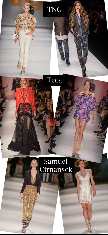 SPFW verão 2016 feminino por Larissa Barbosa ( Blog Mean Fashion) Teca, Samuel e TNG