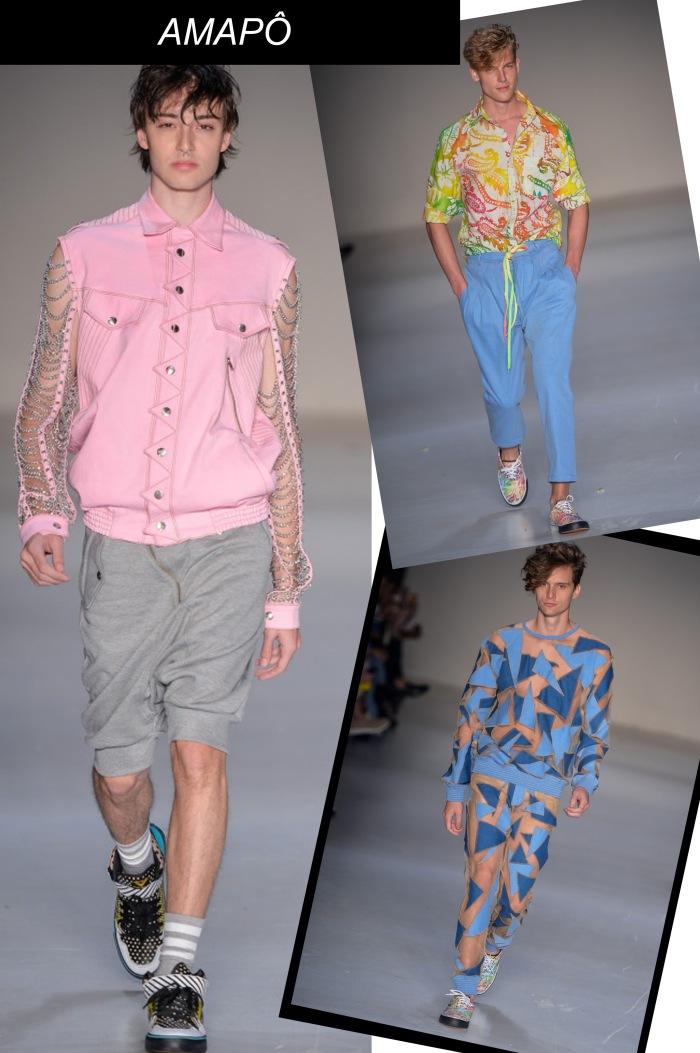 SPFW verão 2016 Masculino por Larissa Barbosa ( Blog Mean Fashion) Amapô Man