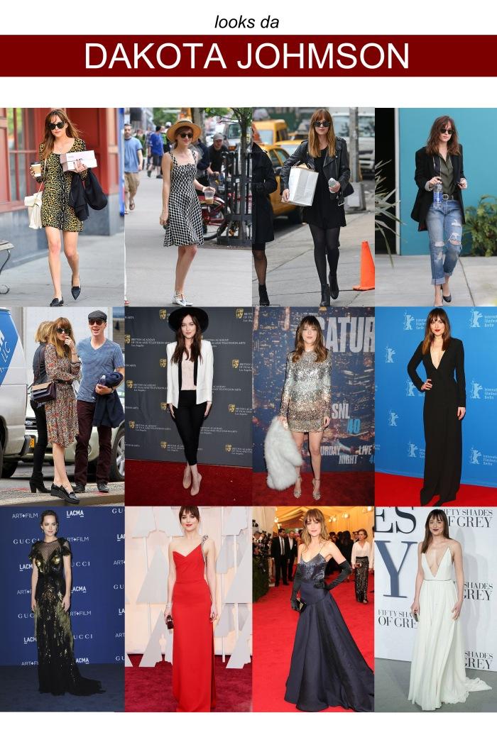 The style of com Dakota Johnson por Larissa Brabosa (Blog Mean Fashion) Style