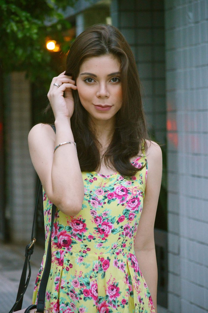 Look do dia Macaquito Floral Renner Larissa Barbosa 1