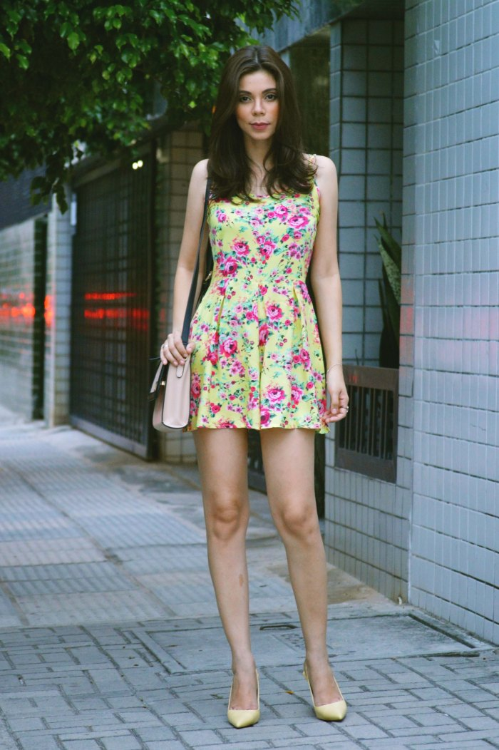 Look do dia Macaquito Floral Renner Larissa Barbosa 4
