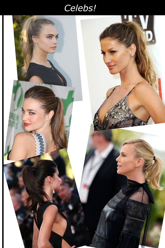 Tendência do ponytail por Larissa Barbosa ( Blog Mean Fashion) celebs