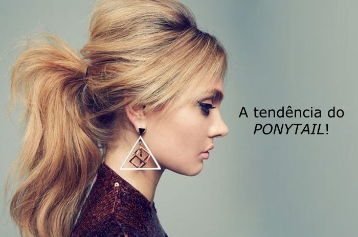 Tendência do ponytail por Larissa Barbosa ( Blog Mean Fashion)